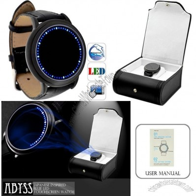Fashion Sport Touch Screen LED Watch