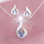 Fashion Sterling Silver Jewelry Set