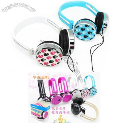 Fashion Style Star/Heart/Skull Earphone for iphone & ipad