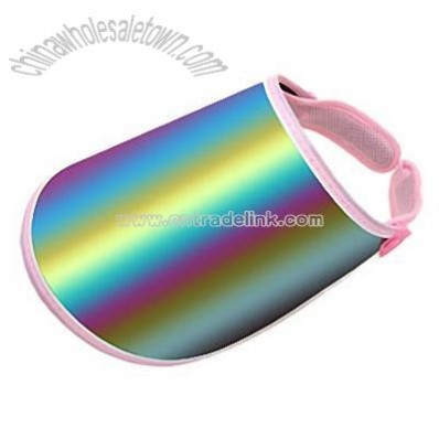 Fashion Sun Visor Hat UV Protection Cap Pink