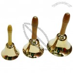 Fashion Tiger Brass Hand Bells
