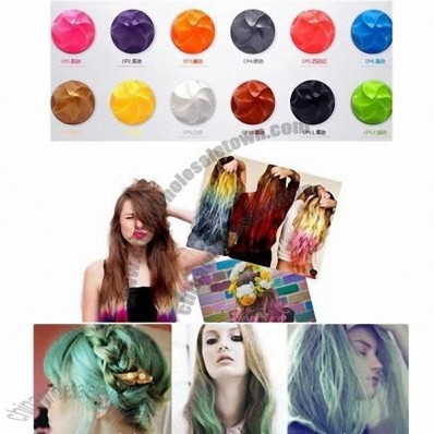 Fashionable Dye Hair Color Chalks