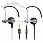 Fashionable Earclip Headphone with Metal Housing