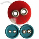 Fashionable Eco-friendly 2-hole Combination Resin Button with Eyelet