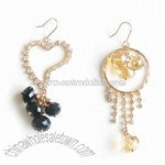Fashionable Glass Beads Earring