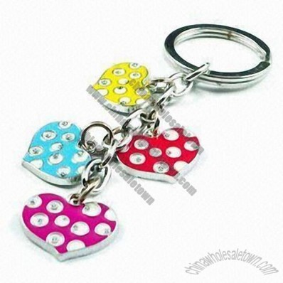 Fashionable Keychain for Promotional Gifts and Daily Life