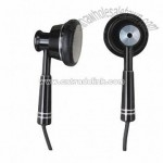 Fashionable Metallic Earphone