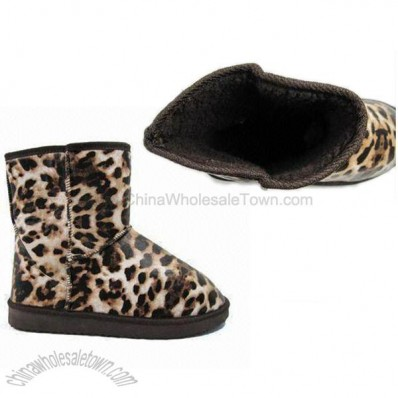 Fashionable Panther Women's Snow Boots