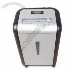 Fashionable Paper Shredder with 15 Sheets Cross-cut Touch Feature and Automatic Reverse Function