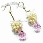 Fashionable Pearl Earrings