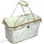 Fashionable Practical Shopping & Picnic Basket