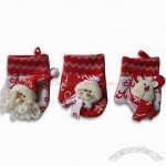 Fashionable Santa Claus Cotton Glove