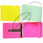 Fashionable Silicone Business Card Holder