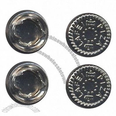 Fashionable and Nice Design Prong Snap Buttons, 12mm
