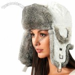 Faux Fur Diamond Style Bomber Winter Hat in 4 Colors
