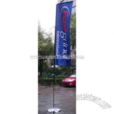 Feather Banner In Ground Base with Water Bag
