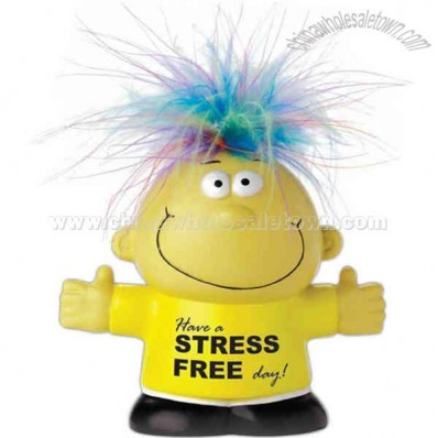 Feel Great - Talking Stress Reliever Shaped Like A Person