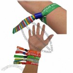 Festival Ticket Woven Wristbands with Smart Clip
