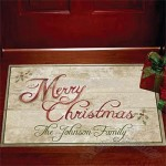 Festive Holiday Doormat-18x27