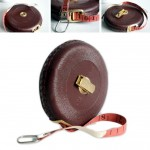 Fiberglass Tape Measure with Leather Case