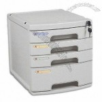 File Cabinet with Four Layer Structure
