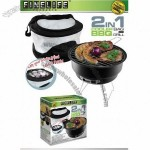 Finelife 2 in 1 Cooler Bag with BBQ Grill