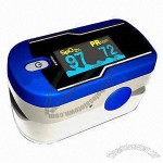 Fingertip Pulse Oximeter, First Pocket Size Fingertip Heart Rate and Blood Oxygen Monitor