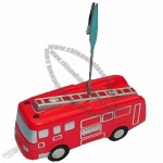 Fire Truck Stress Ball Memo Holder