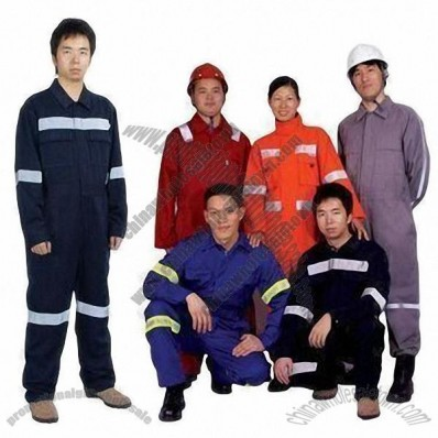 Fire-proof Boiler Suit with Nylon Fire-resistant Fabric