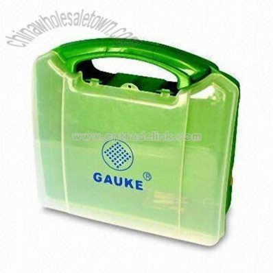 First-aid Box with Transparent or Semi-transparent Lid