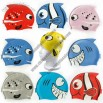 Fish Design Silicone Swimming Cap for Kids