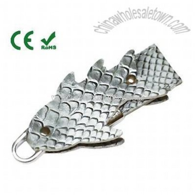 Fish Shaped Leather USB Flash Drive