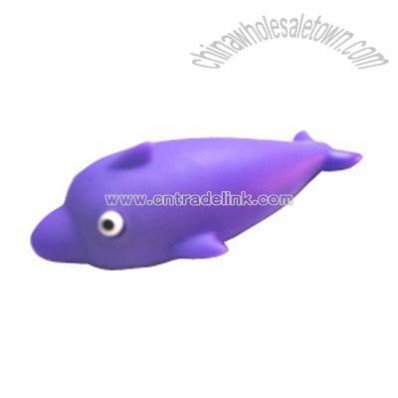 Fish shaped wrist rest mouse pad support