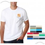 Fitted Crewneck Customized Logo T-Shirt - Men's