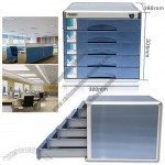 Five Layer Desktop Office File Cabinet