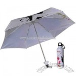 Five fold design bottle case umbrella