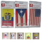 Flag Desing Paper Car Air Freshener