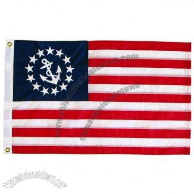 Flag United States Yacht Ensign