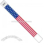 Flag design Tyvek wristband