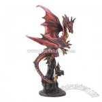 Flame Dragon Figurine