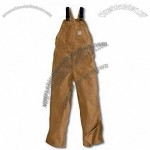 Flame Resistant Duck Bib Overall - Unlined