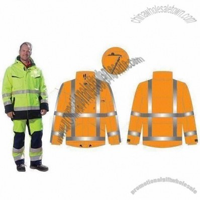 Flame Resistant High-visibility Suit