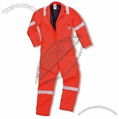 Flame Retardant High Visibility Coverall with Moveable Lining