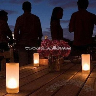 Flameless LED Candles with Fragrance Diffuser