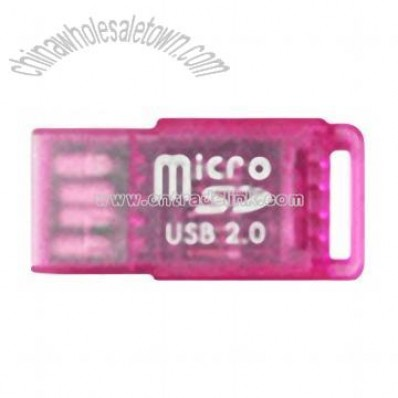 Flash Card Reader - Micro SD Reader