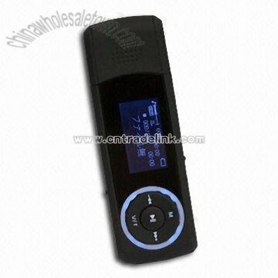 Flash MP3 Player with Radio