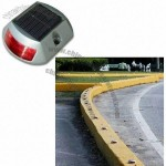Flashing/Constant Solar Road Stud with Edge Light and Super Bright 2 x 3pcs LED Light Source