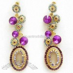 Flashing Drop Earrings