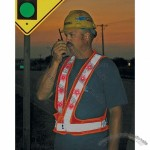Flashing LED Traffic Safety Vests