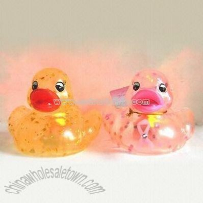 Flashing Rubber Duck